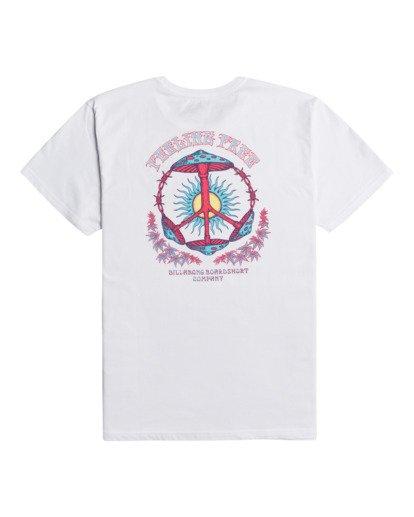 1 Shroom Peace - T-Shirt for Men White Z1SS35BIF1 Billabong
