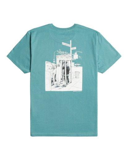 1 Surfreport - Camiseta para Hombre Azul Z1SS36BIF1 Billabong