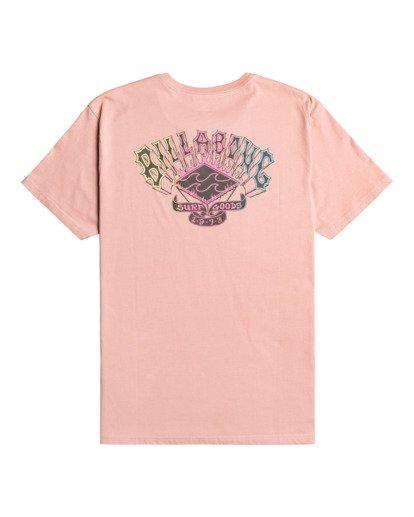 1 Heritage - Camiseta para Hombre Rosa Z1SS55BIF1 Billabong