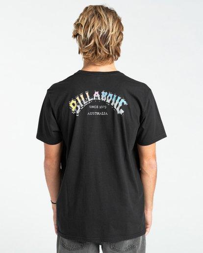 1 Heritage - Camiseta para Hombre Negro Z1SS55BIF1 Billabong