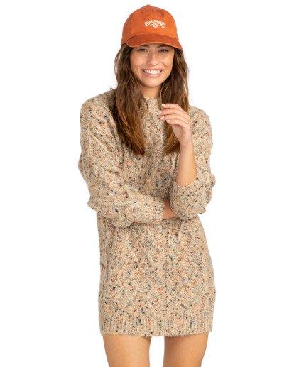 1 Country Side - Vestido para Mujer Blanco Z3DR01BIF1 Billabong