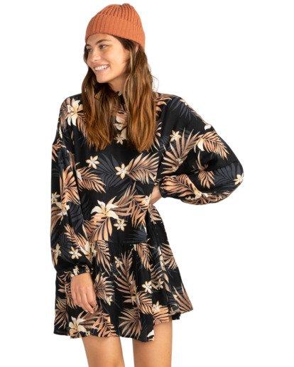 1 Happy Mind - Robe pour Femme Noir Z3DR16BIF1 Billabong