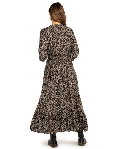 2 Good Vibrations - Robe longue pour Femme Noir Z3DR18BIF1 Billabong