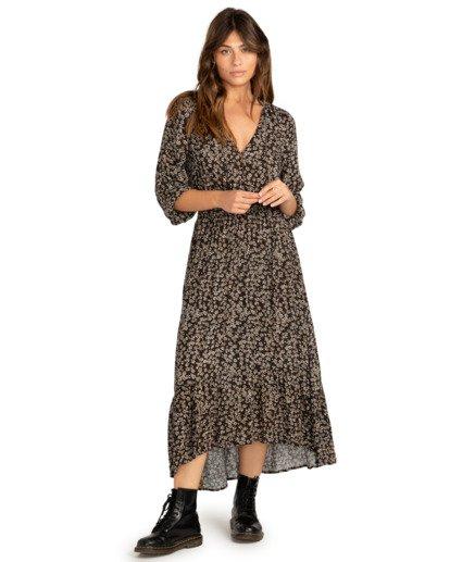 1 Good Vibrations - Robe longue pour Femme Noir Z3DR18BIF1 Billabong
