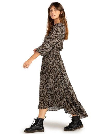 3 Good Vibrations - Robe longue pour Femme Noir Z3DR18BIF1 Billabong