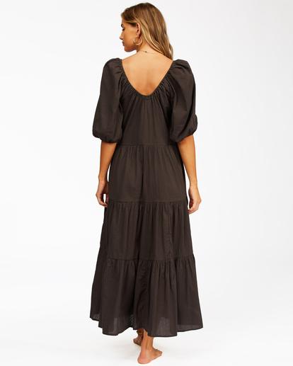3 Endless Shore - Robe longue pour Femme Noir Z3DR26BIF1 Billabong