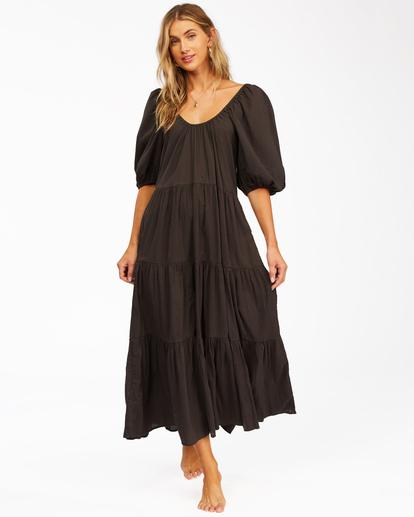 1 Endless Shore - Robe longue pour Femme Noir Z3DR26BIF1 Billabong