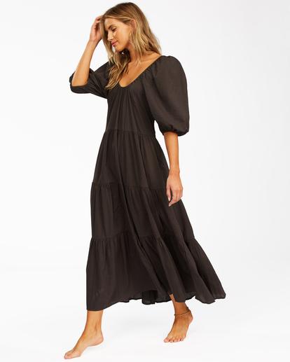 2 Endless Shore - Robe longue pour Femme Noir Z3DR26BIF1 Billabong