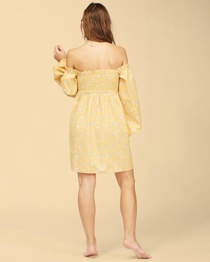 4 Wrangler Bellflower - Robe pour Femme Jaune Z3DR28BIF1 Billabong