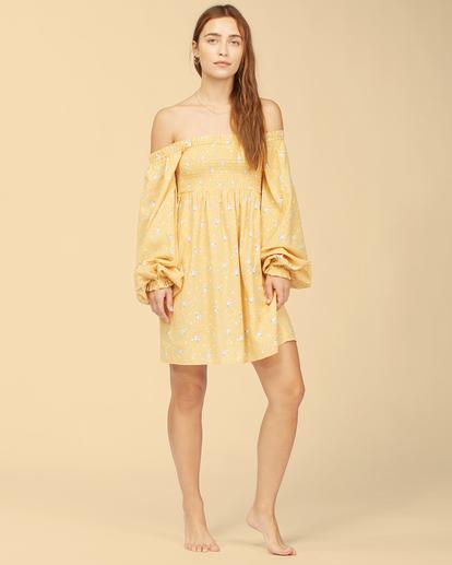 5 Wrangler Bellflower - Robe pour Femme Jaune Z3DR28BIF1 Billabong