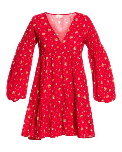 2 Wrangler Falling For You - Robe pour Femme Rouge Z3DR30BIF1 Billabong