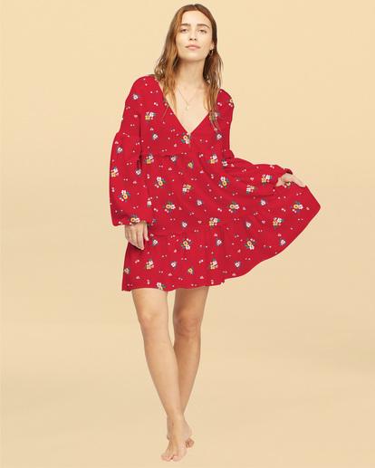1 Wrangler Falling For You - Robe pour Femme Rouge Z3DR30BIF1 Billabong
