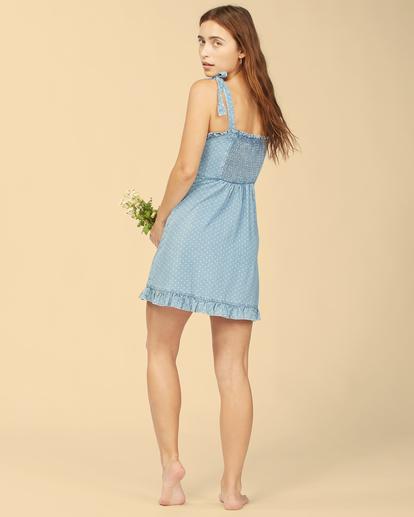 3 Wrangler Lovely Day - Robe pour Femme Bleu Z3DR31BIF1 Billabong