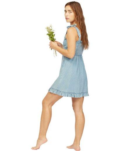 4 Wrangler Lovely Day - Robe pour Femme Bleu Z3DR31BIF1 Billabong