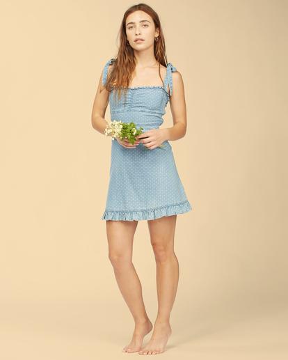 1 Wrangler Lovely Day - Robe pour Femme Bleu Z3DR31BIF1 Billabong