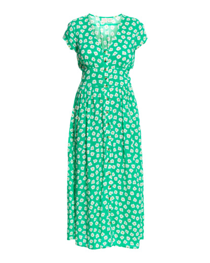 9 Wrangler Floral Dream - Robe midi pour Femme Vert Z3DR33BIF1 Billabong