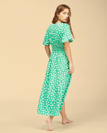 4 Wrangler Floral Dream - Robe midi pour Femme Vert Z3DR33BIF1 Billabong