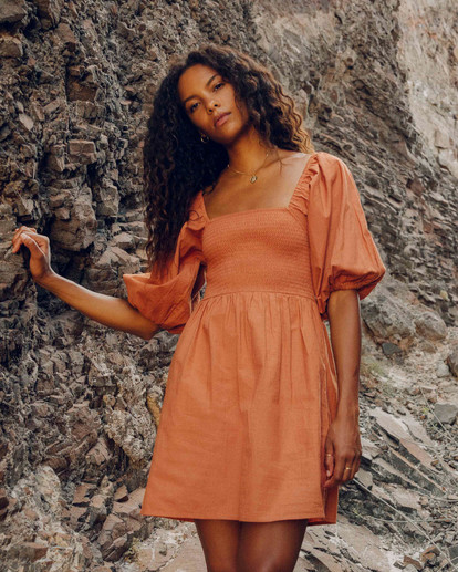 0 Paradise Days - Dress for Women Yellow Z3DR42BIF1 Billabong