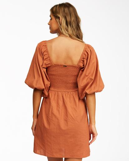 3 Paradise Days - Dress for Women Yellow Z3DR42BIF1 Billabong