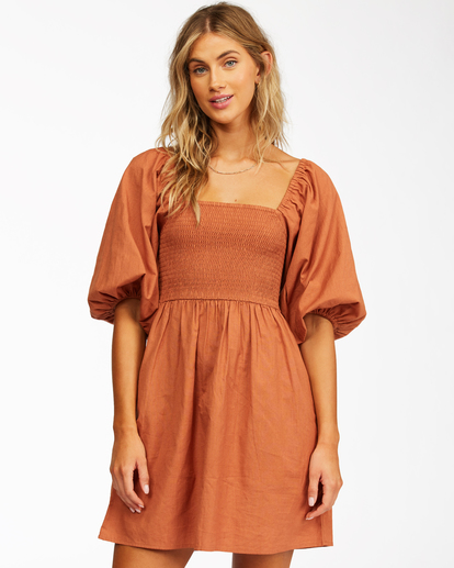 1 Paradise Days - Dress for Women Yellow Z3DR42BIF1 Billabong