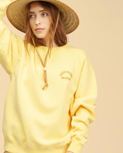 4 Wrangler Wayward - Sweatshirt for Women Yellow Z3FL22BIF1 Billabong