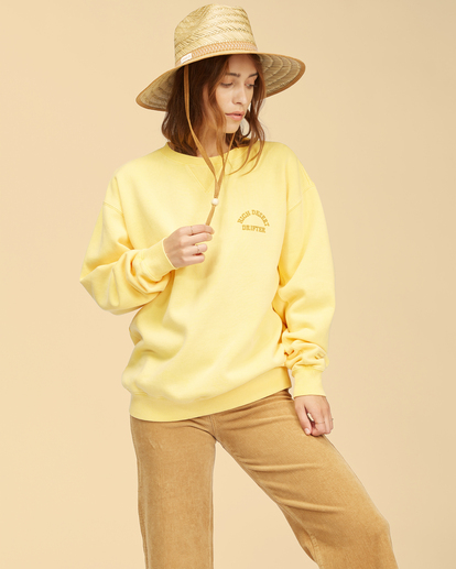 2 Wrangler Wayward - Sweatshirt for Women Yellow Z3FL22BIF1 Billabong