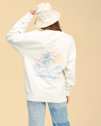 2 Wrangler Wayward - Sweatshirt für Frauen Weiss Z3FL22BIF1 Billabong