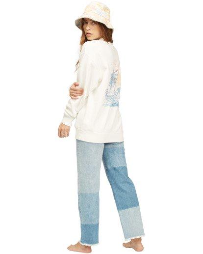 3 Wrangler Wayward - Sweatshirt für Frauen Weiss Z3FL22BIF1 Billabong