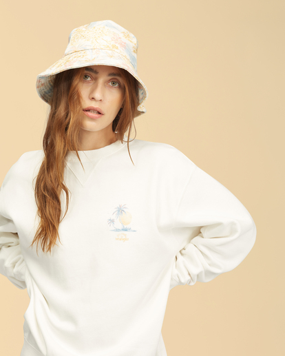 4 Wrangler Wayward - Sweatshirt für Frauen Weiss Z3FL22BIF1 Billabong