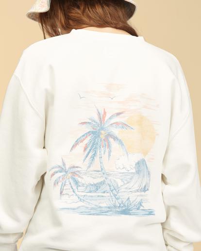 5 Wrangler Wayward - Sweatshirt für Frauen Weiss Z3FL22BIF1 Billabong