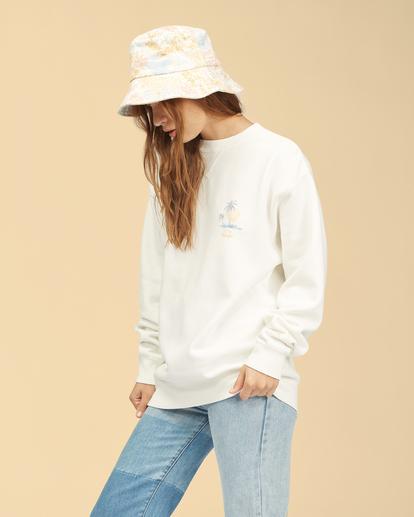 1 Wrangler Wayward - Sweatshirt für Frauen Weiss Z3FL22BIF1 Billabong