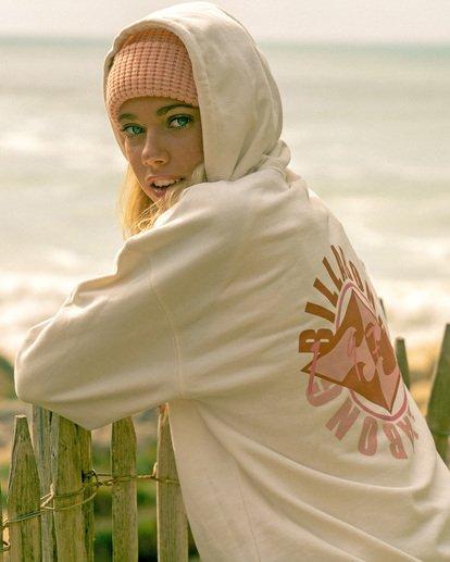 0 Sail Away - Sweat à capuche pour Femme Blanc Z3HO07BIF1 Billabong