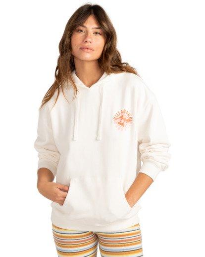 1 Sail Away - Sweat à capuche pour Femme Blanc Z3HO07BIF1 Billabong