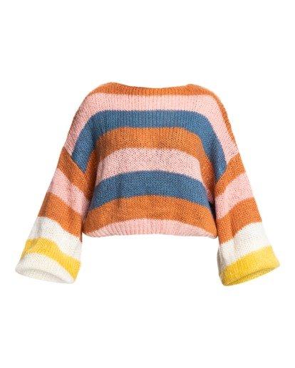 3 Soft Wind - Kürzer geschnittenes Sweatshirt für Frauen Mehrfarbig Z3JP02BIF1 Billabong
