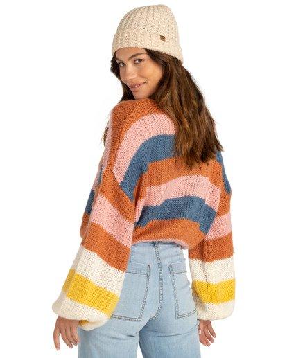 1 Soft Wind - Kürzer geschnittenes Sweatshirt für Frauen Mehrfarbig Z3JP02BIF1 Billabong