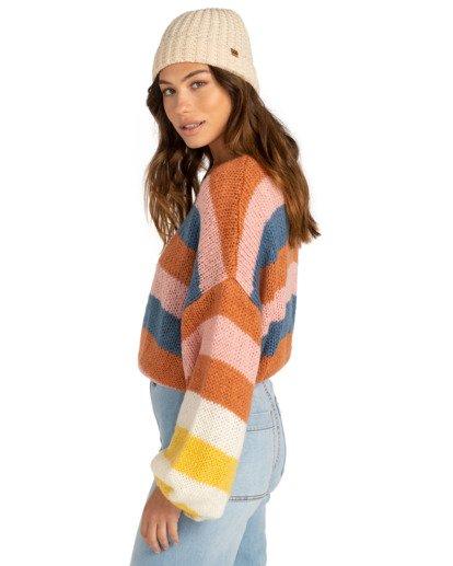 2 Soft Wind - Kürzer geschnittenes Sweatshirt für Frauen Mehrfarbig Z3JP02BIF1 Billabong