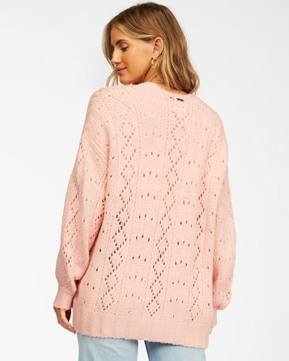 3 Blissed Out - Cardigan for Women Pink Z3JP25BIF1 Billabong