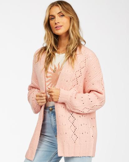 1 Blissed Out - Cardigan for Women Pink Z3JP25BIF1 Billabong
