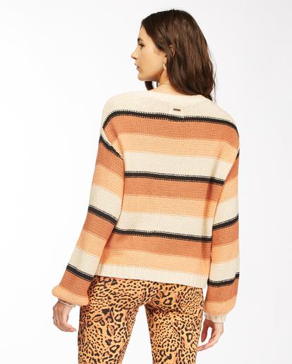 3 Seeing Double - Cropped Sweatshirt for Women Beige Z3JP27BIF1 Billabong
