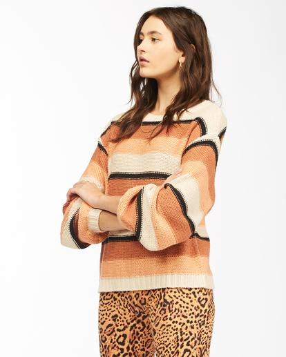 2 Seeing Double - Cropped Sweatshirt for Women Beige Z3JP27BIF1 Billabong
