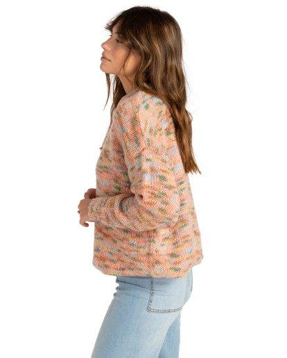 1 In The Sky - Jersey con cuello redondo para Mujer Multicolor Z3JP31BIF1 Billabong