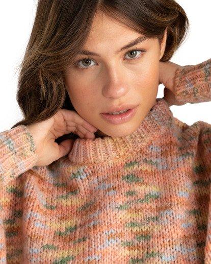 2 In The Sky - Jersey con cuello redondo para Mujer Multicolor Z3JP31BIF1 Billabong