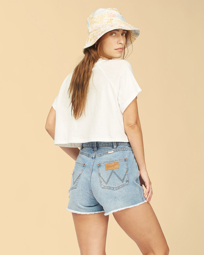 2 Wrangler Take It Back - T-Shirt für Frauen Weiss Z3KT06BIF1 Billabong