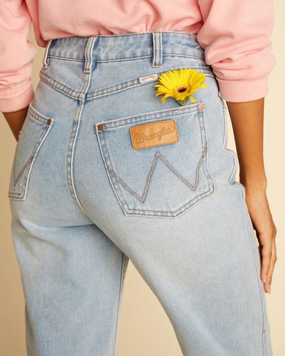 6 Wrangler She's Cheeky - Jean taille haute pour Femme Bleu Z3PN04BIF1 Billabong