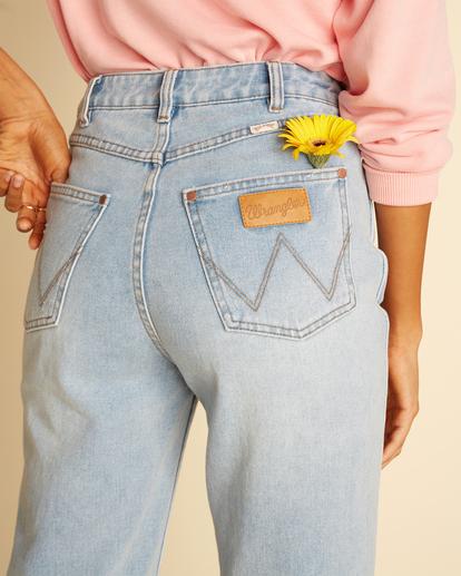7 Wrangler She's Cheeky - Jean taille haute pour Femme Bleu Z3PN04BIF1 Billabong