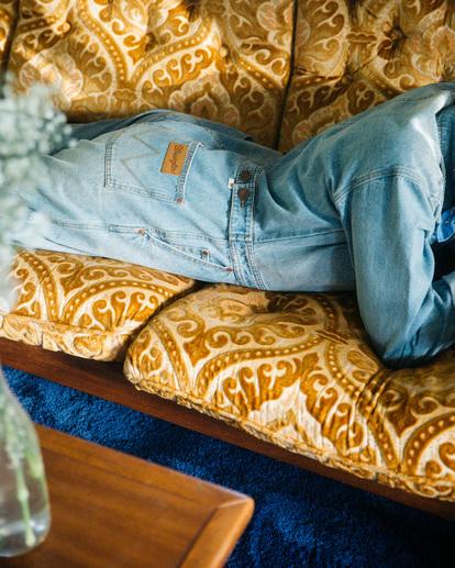 1 Wrangler On The Range - Combinaison en jean pour Femme Beige Z3PT01BIF1 Billabong
