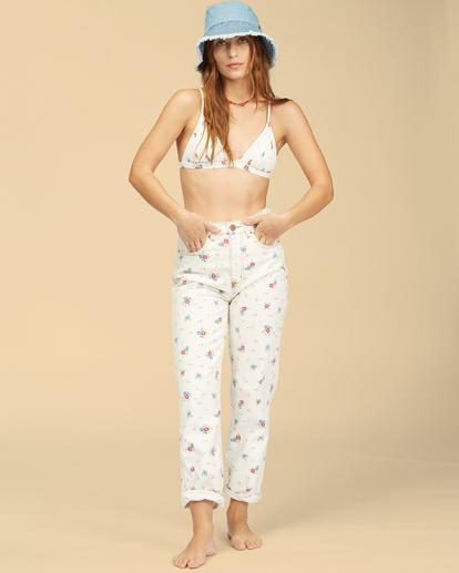 2 Wrangler Shes Cheeky - Jean taille haute pour Femme Blanc Z3PT08BIF1 Billabong