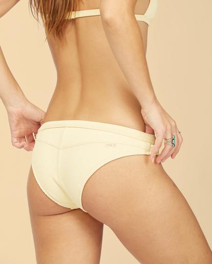 5 Wrangler Face The Sun Biarritz - Medium Coverage Bikini Bottoms for Women Yellow Z3SB03BIF1 Billabong