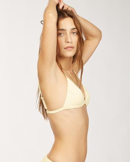 6 Wrangler Face The Sun Biarritz - Medium Coverage Bikini Bottoms for Women Yellow Z3SB03BIF1 Billabong