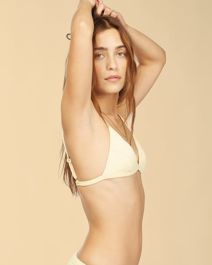 4 Wrangler Face The Sun - Bikini Top for Women Yellow Z3ST03BIF1 Billabong